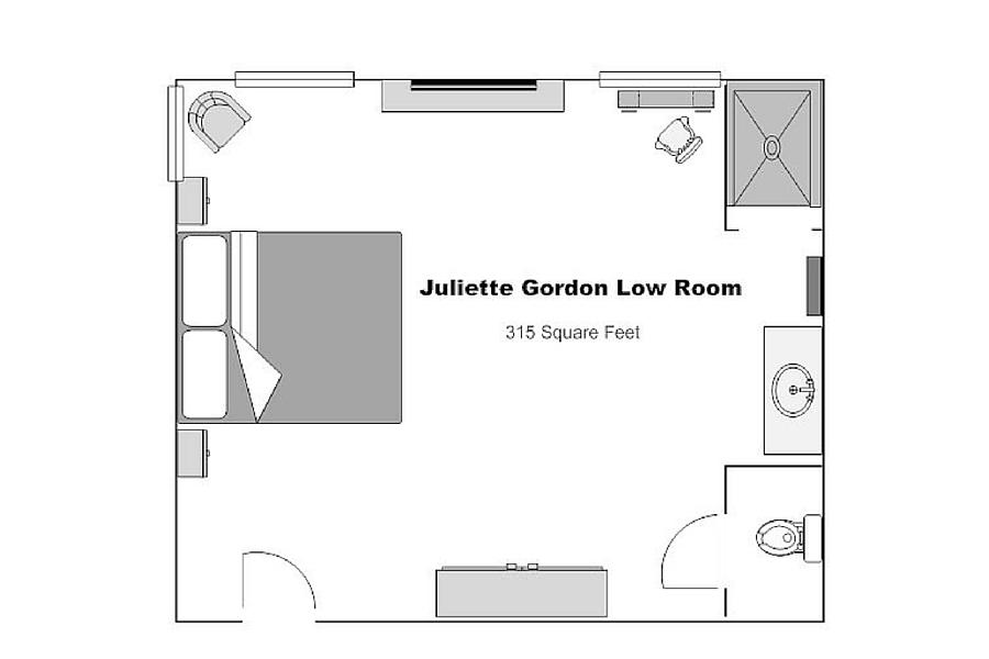 The Juliette Gordon Low Room | Kehoe House Savannah