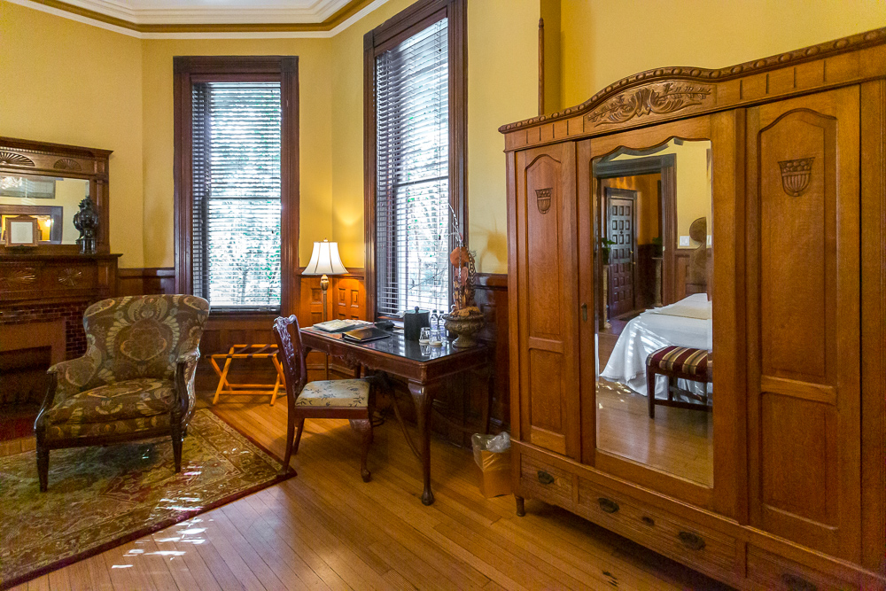 Kehoe House Guest room