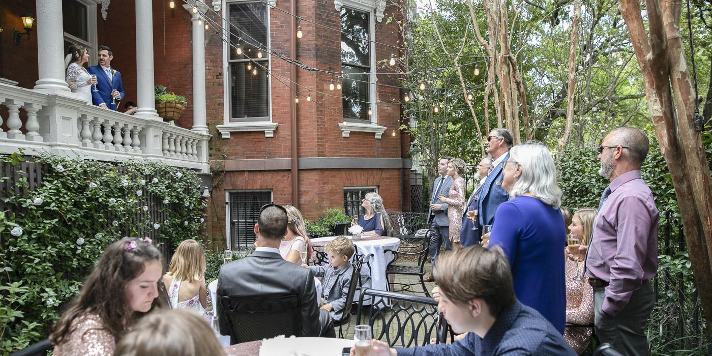 Kehoe House Outdoor Garden Wedding