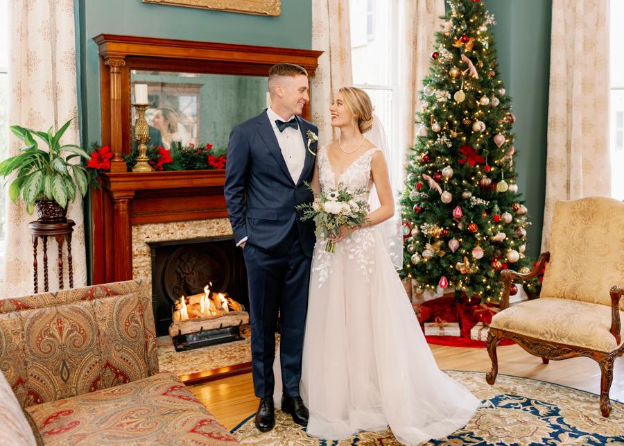 Kehoe House Christmas Wedding Savannah, GA