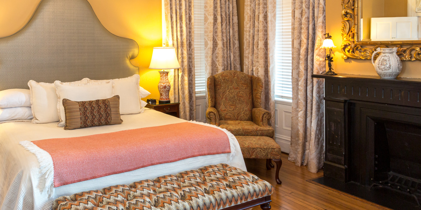 Best Guest Rooms at Kehoe House