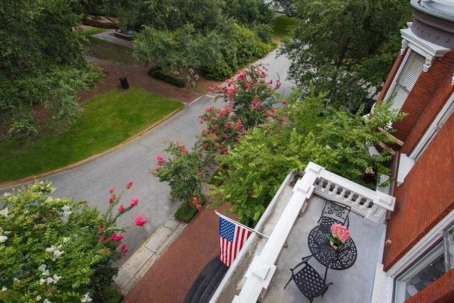 View of Mercer Room's Veranda, from Oglethorpe Room's Perspective