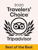 2020 TripAdvisor Travelers' Choice
