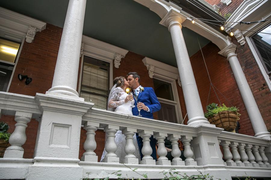 Savannah elopement at The Kehoe House