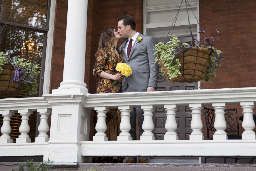 Savannah elopement at The Kehoe House