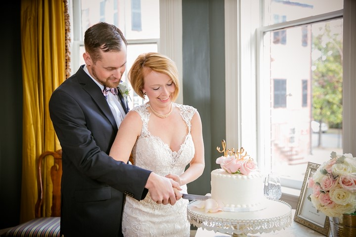 Savannah Elopement Package at The Kehoe House